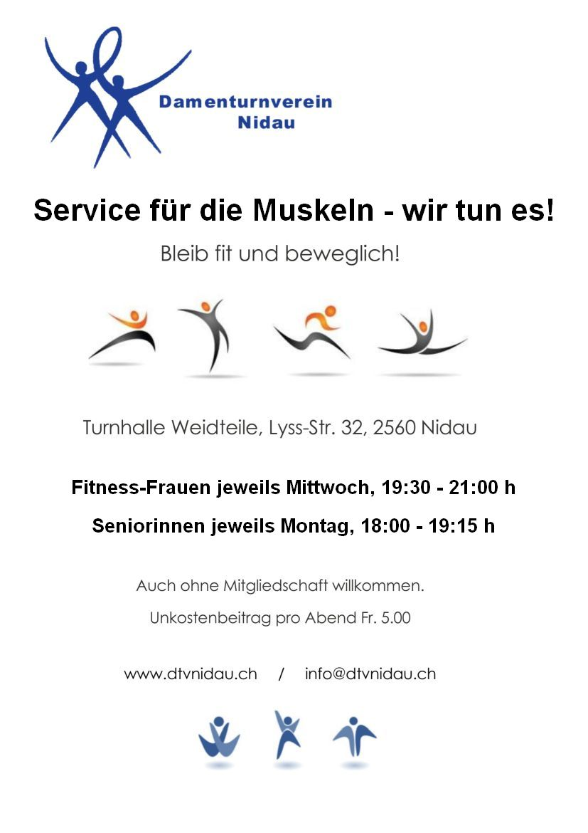 Service Muskeln